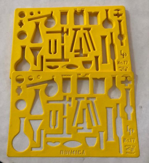 Gioser Plantilla Quimica No. 17 (17 X 12 Cm)