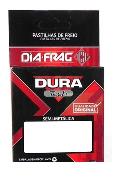 Pastilha De Freio Xre300 Wr125 Rmx 250 Dura Tech Dfp-40804