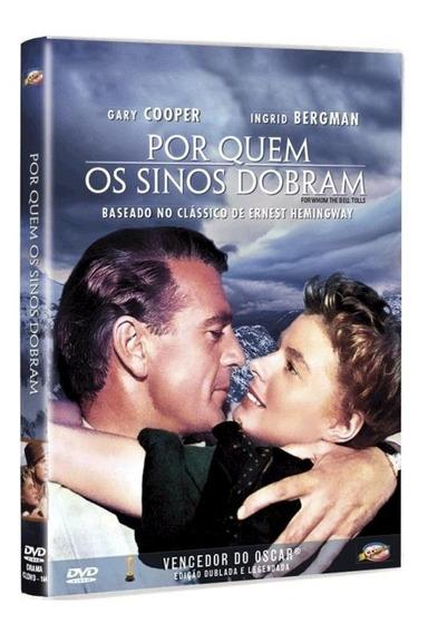 Por Quem Os Sinos Dobram - Dvd - Gary Cooper Ingrid Bergman