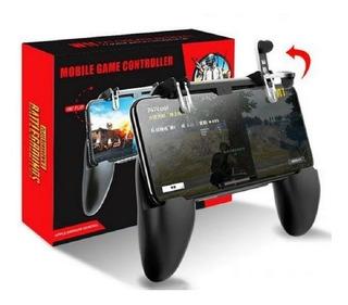 Game Pad Gamer W10 Joystick Gatilho L1 R1 Celular Free Fire