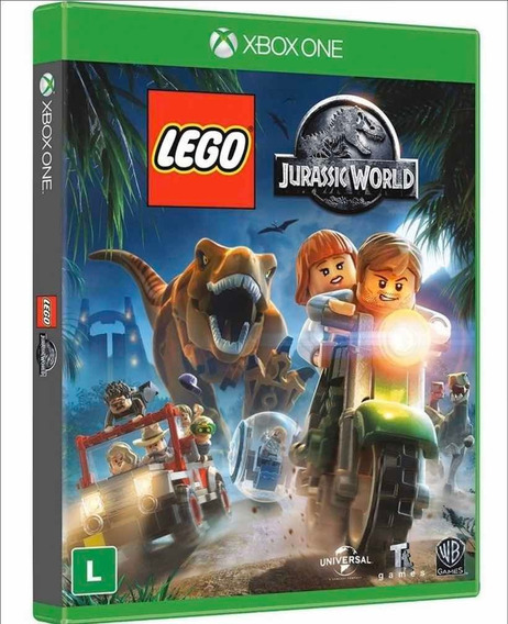 Lego Jurassic World - Xbox One - Novo - Mídia Física Lacrado
