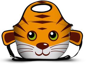 Lancheira De Neoprene Zoo Tigre