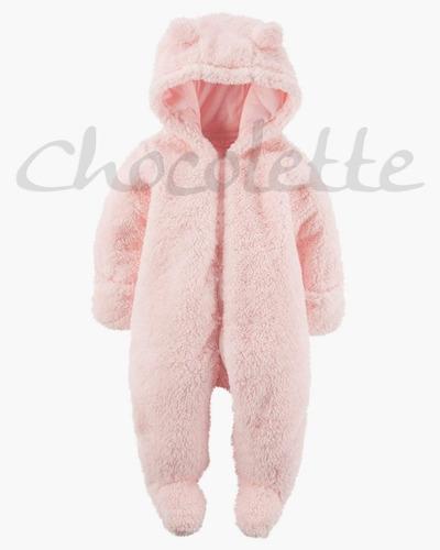 Enterito Teddy Oso Capucha Chocolette Bebes