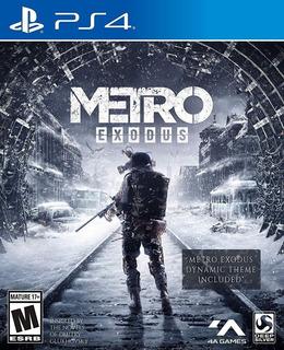 Metro Exodus Ps4 Nuevo Fisico Sellado Envio Gratis