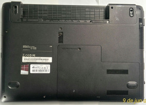 Carcaça Base Inferior Samsung Np 270 / 275-usado