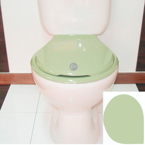 Asiento Universal Para Sanitario Redondo, Verde Claro