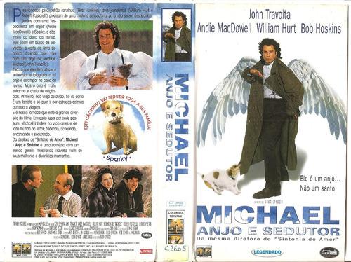 Michael Anjo E Sedutor John Travolta | Mercado Livre