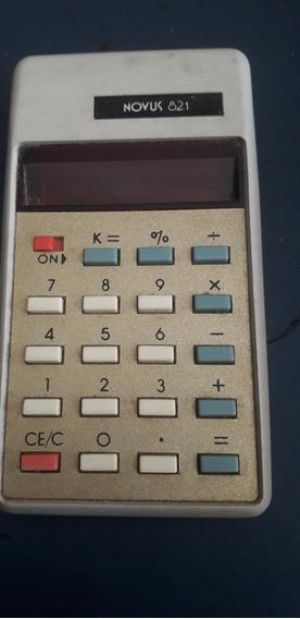 Calculadora Antiga Novus-821 Raridade Pç P Coleção