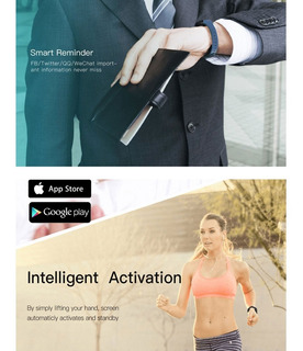Pulseira De Relgio Inteligente Com Atividade De Fitness
