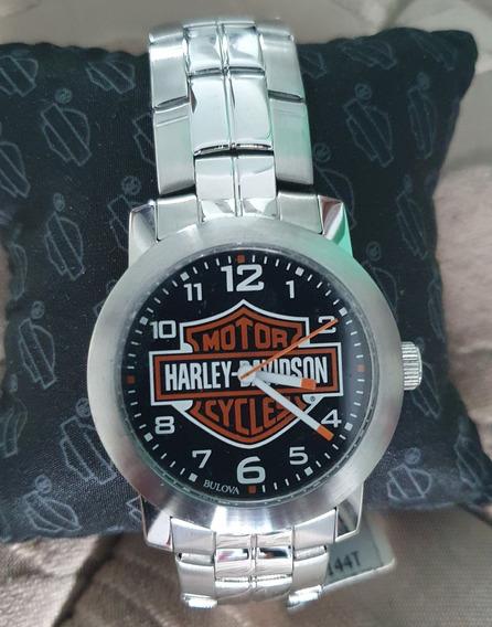 Relógio Masculino Bulova Harley Davidson 784019