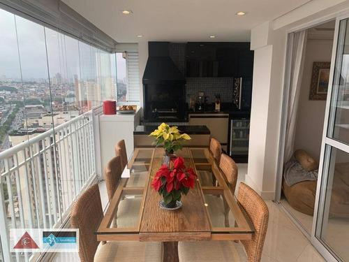 Imagem 1 de 30 de Apartamento Com 3 Dormitórios À Venda, 91 M² Por R$ 970.000,00 - Jardim Anália Franco - São Paulo/sp - Ap6569