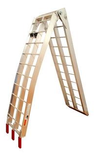 Rampa De Aluminio Plegable Para Motos - Quads - Buggies