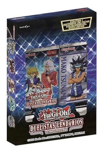 Booster Card Game Konami Yu Gi Oh Duelistas Lendários