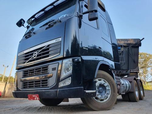 Imagem 1 de 15 de  Volvo Fh 500 6x4 Teto Alto Top De Linha Ano 2013 Traçado