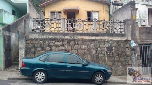 Casa Para Venda Em Santo André, Vila Guarani, 2 Dormitórios, 1 Banheiro - 1830_1-1811657