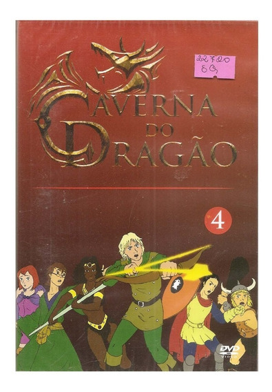 Dvd A Caverna Do Dragão Dvd (4)