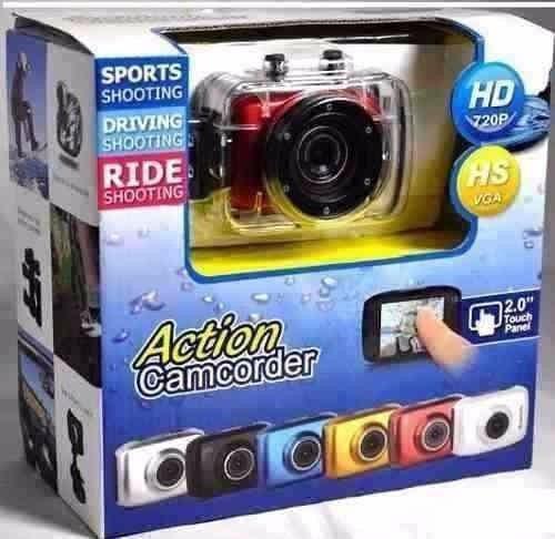 Câmera Action Camcorder Sports A Prova Dágua Gopro