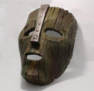O Máscara - Loki Mask Realística Replica O Maskára - Resina