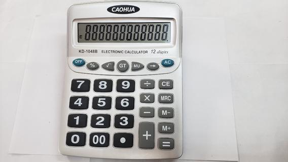 Calculadora Mesa Comercial Escritório Display 12 Digitos