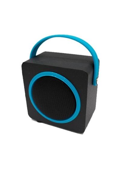 Caixa De Som Sk404 Bluetooth Fm Micro Sd 10w Oex Azul