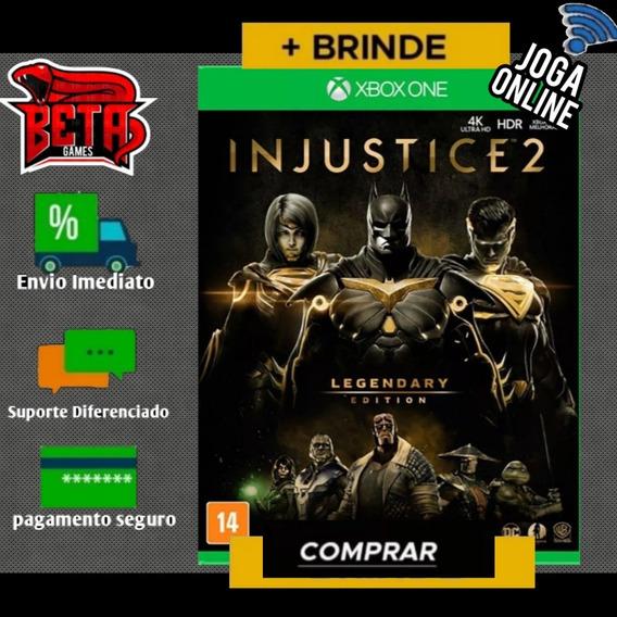 Injustice 2 - Xbox One - Midia Digital + Brinde