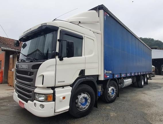 Scania P310 Bitruck Ano 2015 Está Com Motor Novo