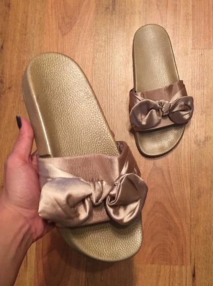 Zapatos Sandalias Fnty Satinadas 24 Super Bonitas!!