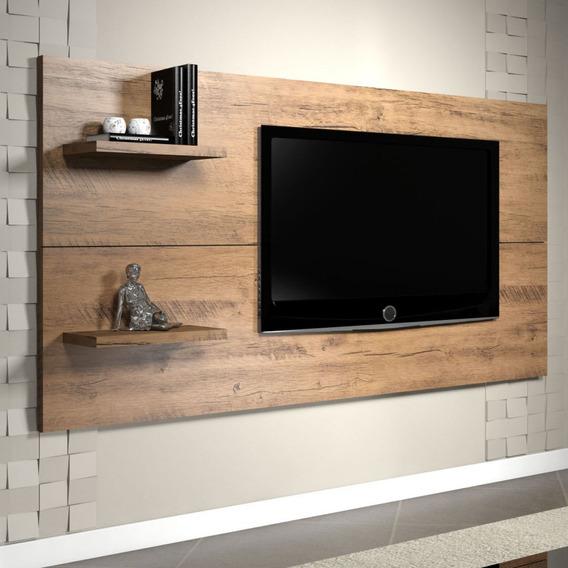 Painel Para Tv Até 55 Polegadas Top Siena Móveis Hiwt