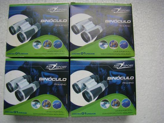 Kit 4 Mini Binóculos Art Sport 9 X 10,5 Cm (lxa) Com Cordão