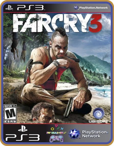Far Cry 3, Ps3, Jogo Midia Digital, Legendado Em Português