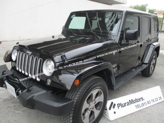 Jeep Wrangler 2017 Unlimited Sahara 4x4 Dvd Gps $579,000