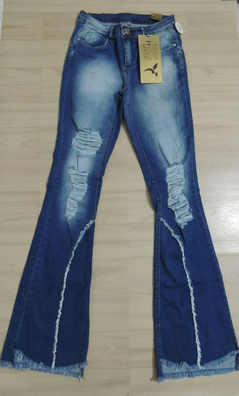 Calça Feminina Jeans Com Desconto Consciencia Sawary Jezzian