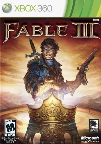 Jogo Xbox 360 Fable 3 Midia Fisica Novo Lacrado