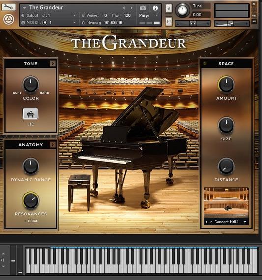Piano The Grandeur Para Kontakt Sample