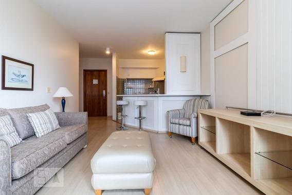 Apartamento No 12º Andar Com 1 Dormitório E 1 Garagem - Id: 892951470 - 251470