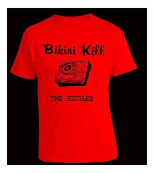 Remera Bikini Kill. Riot Grrrl, Punk