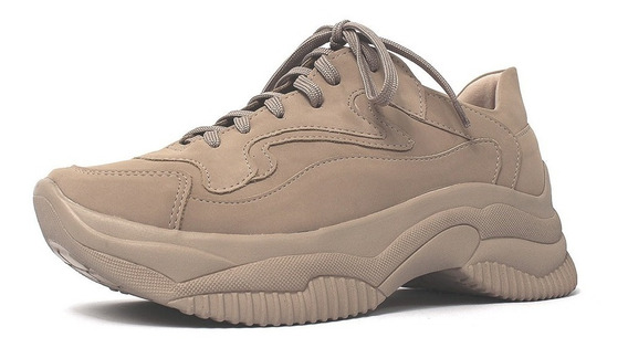 Tênis Feminino Joss Chunky Sneakers Sapatênis Casual Damannu