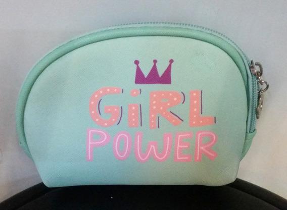 Monedero Trendy Girl Power Celeste