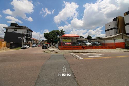 Terreno À Venda Com 579m² Por R$ 1.290.000,00 No Bairro Novo Mundo - Curitiba / Pr - Te0241