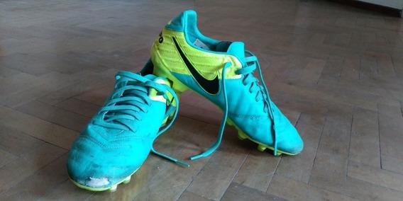 Botines Nike Tiempo Legacy Ii Fg 8,5 Us 40,5 Arg Usados