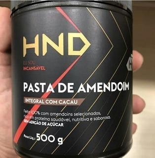 Pasta De Amendoim Hnd - 1 Kg (promoção De Lançamento)