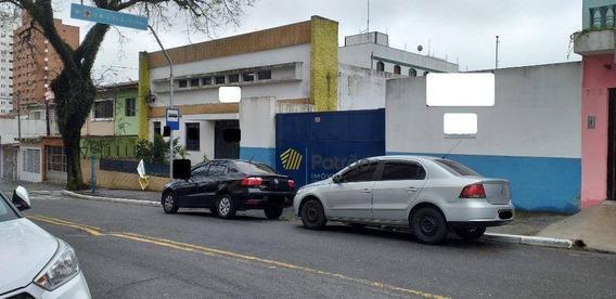 Galpão Para Alugar, 650 M² Por R$ 15.000/mês - Vila Euclides - São Bernardo Do Campo/sp - Ga0235