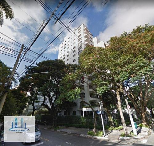 Imagem 1 de 8 de Apartamento Com 3 Dormitórios À Venda, 171 M² Por R$ 2.190.000 - Moema - São Paulo/sp - Ap3521