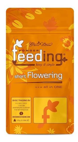 Imagen 1 de 2 de Fertilizante Green House Feeding Short Flowering Autocultivo