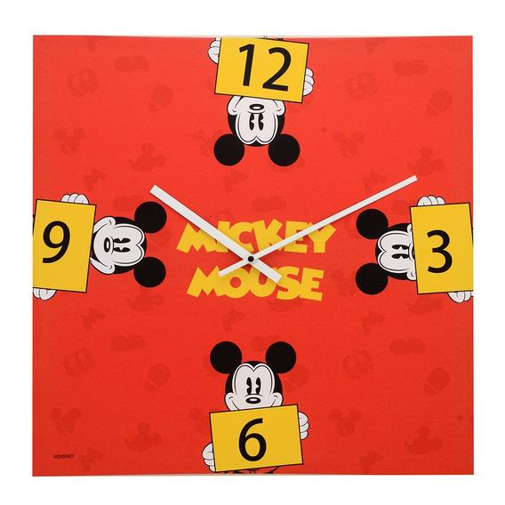 Relógio De Parede Decorativo - Disney - Mickey Mouse - Verme