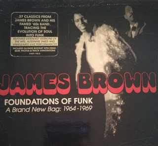 James Brown Foundations Of Funk Brand New Bag 2 Cd Original