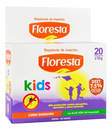 Repelente Floresta Extremo Kids 10 G C/20