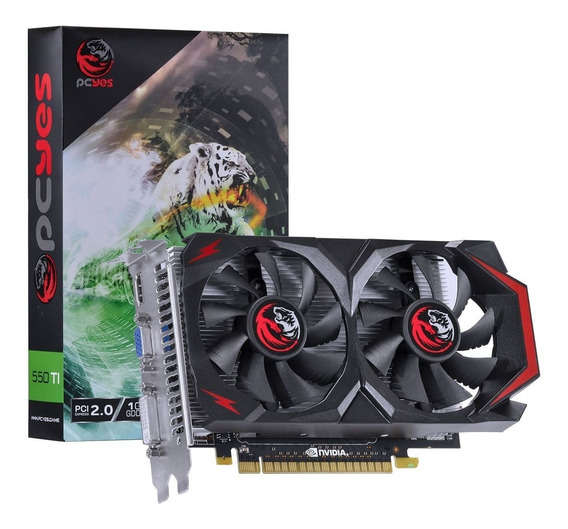 Placa De Vídeo Pc Geforce Gtx 550ti 1gb Ddr5 128 Bits Pcyes