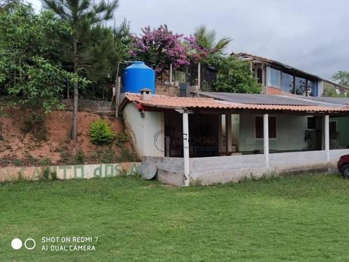 Chácara Com 2 Dormitórios À Venda, 1500 M² Por R$ 210.000 - Paineiras - Redenção Da Serra/sp - Ch0020