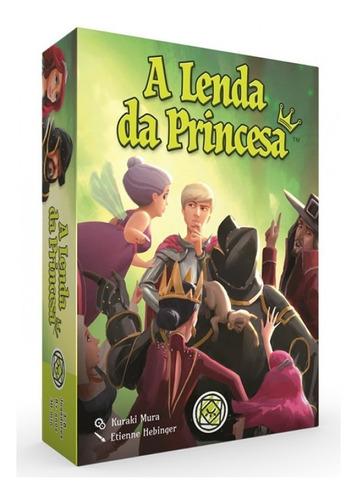Jogo De Tabuleiro Board Party Game A Lenda Da Princesa